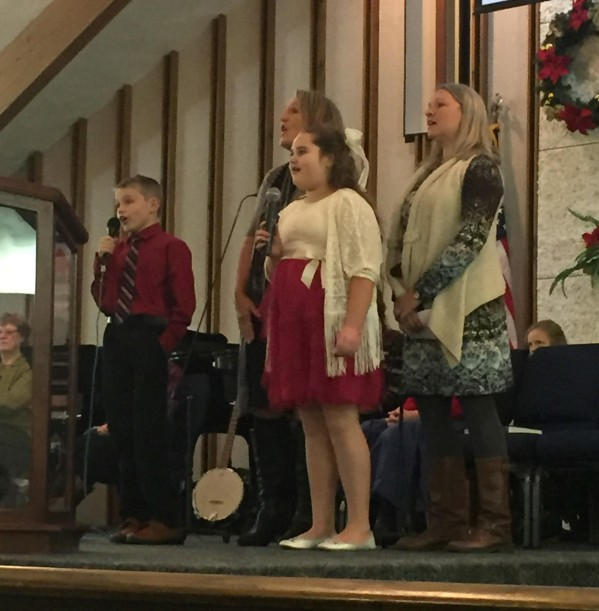 """Jesus Messiah"" sung by Phillip, Erica, Heidi & Holly"